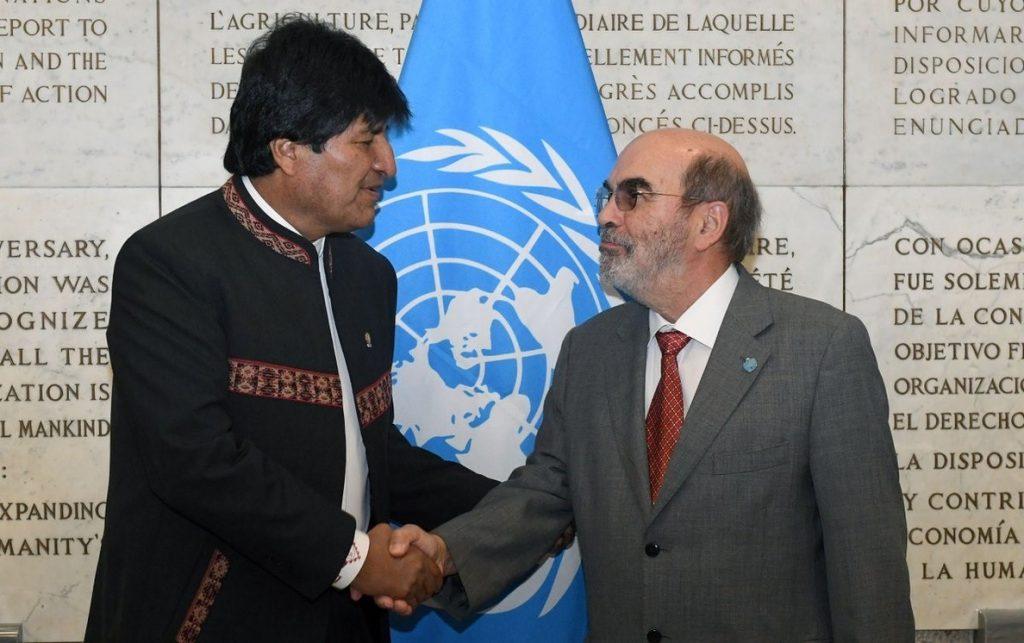 La FAO garantiza 100 millones de dólares para proyectos de riego en Bolivia
