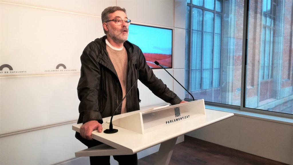 Riera (CUP) cree que el PSOE podría intentar propiciar una segunda transición en Cataluña