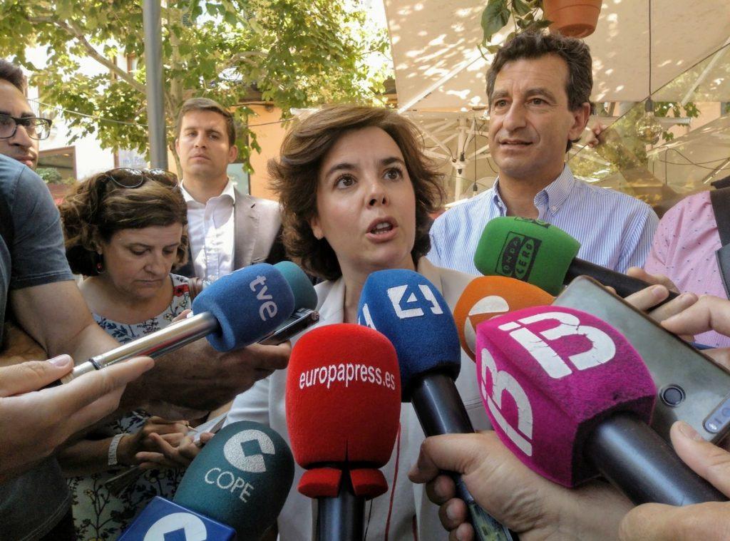 Santamaría, sobre la Presidencia de RTVE: «Ni puede ser La Tuerka ni podemos ver a Monedero presentando Informe Semanal»