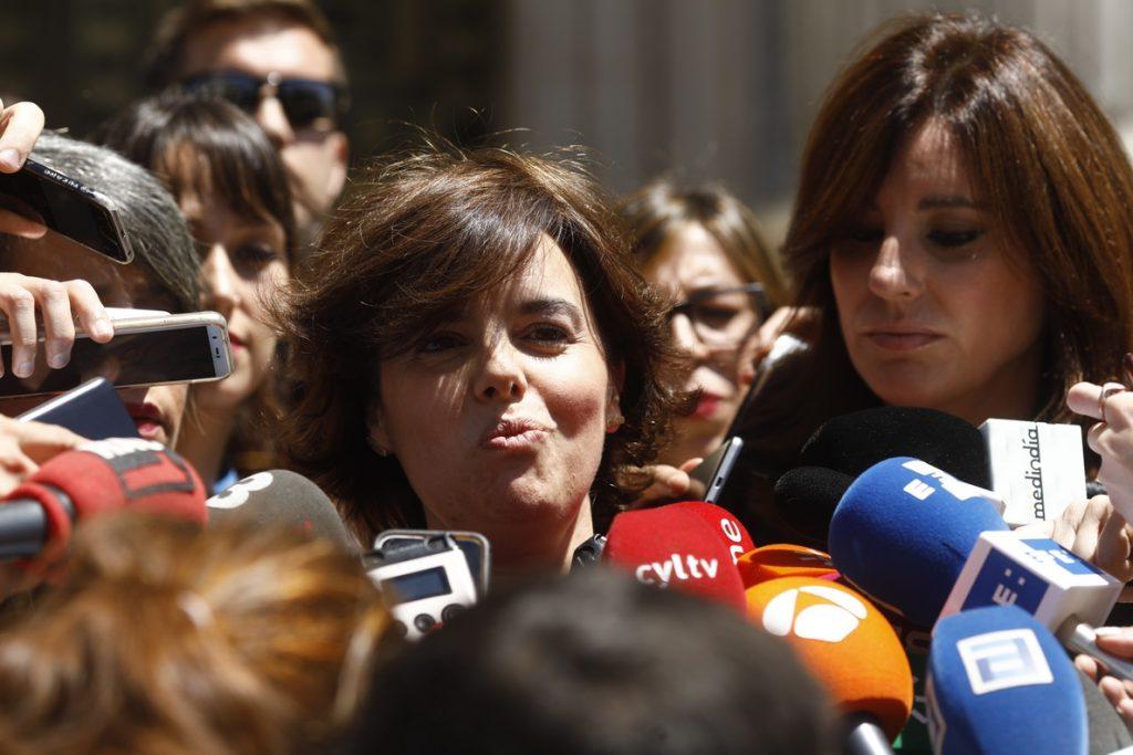 Santamaría asegura que será «generosa» tras las primarias: «Siempre he estado y estaré donde quiera el partido»