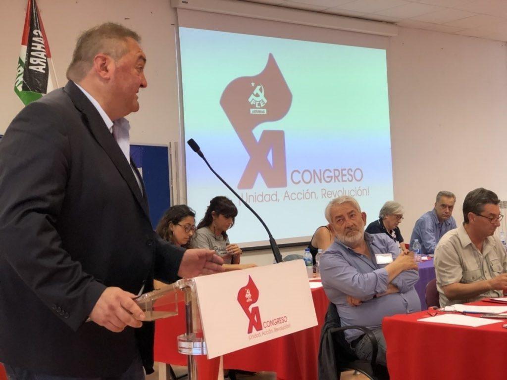 El coordinador asturiano de IU dice que la militancia ha dejado «claro» su deseo de ir en solitario en Asturias