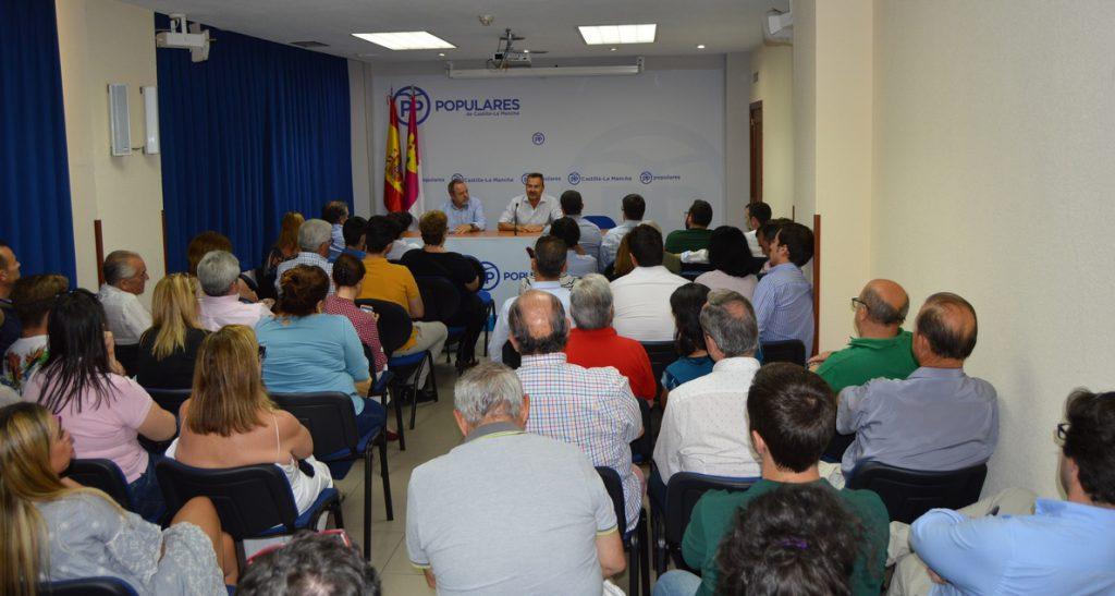 Agustín Conde: «Necesitamos a un presidente que pueda ganar y gobernar al día siguiente y esa persona es Cospedal»