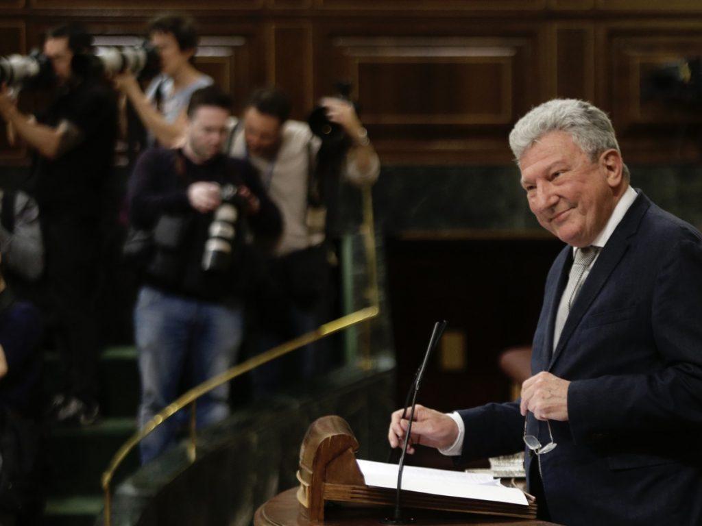 Nueva Canarias formaliza en el Congreso su ruptura con el PSOE por el retraso en aplicar los descuentos de los vuelos