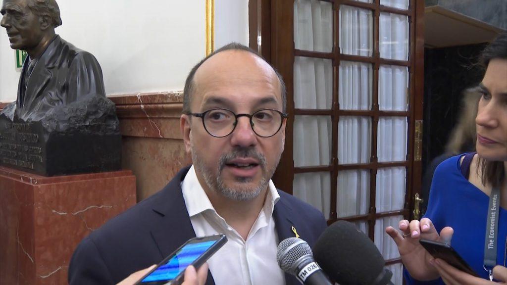 El PDeCAT no da «ningún valor político» al traslado a Cataluña de los presos del 'procés': «Es cumplir la legalidad»