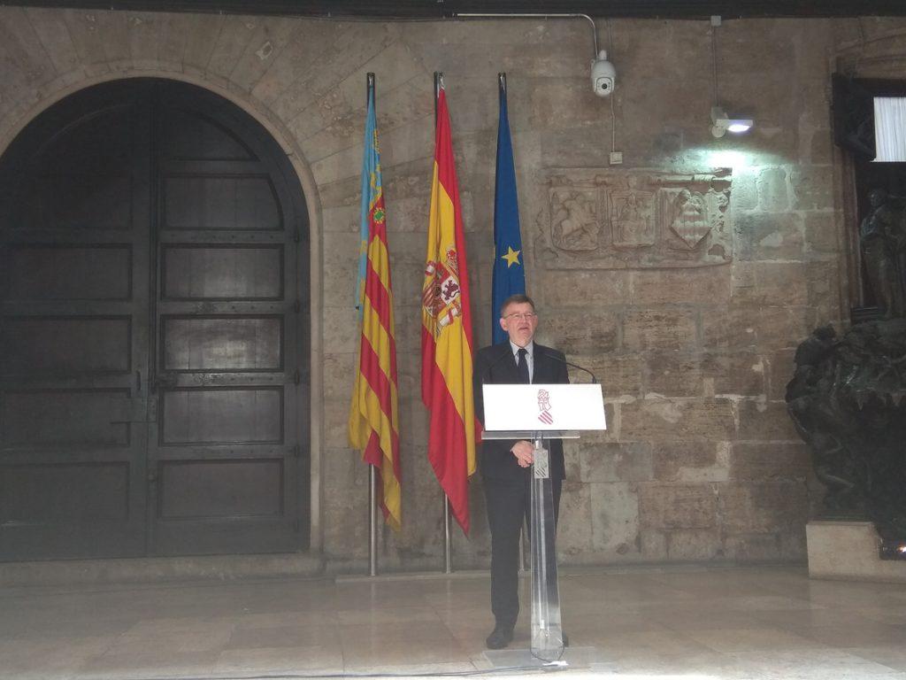 Puig cree que Rodríguez ha tomado la decisión «correcta»: «Se han podido producir errores y se asume la responsabilidad»