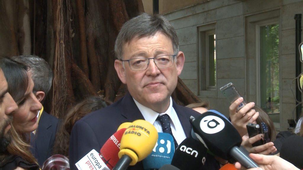 Puig: «Un auto judicial dice que no hay financiación ilegal del PSPV»