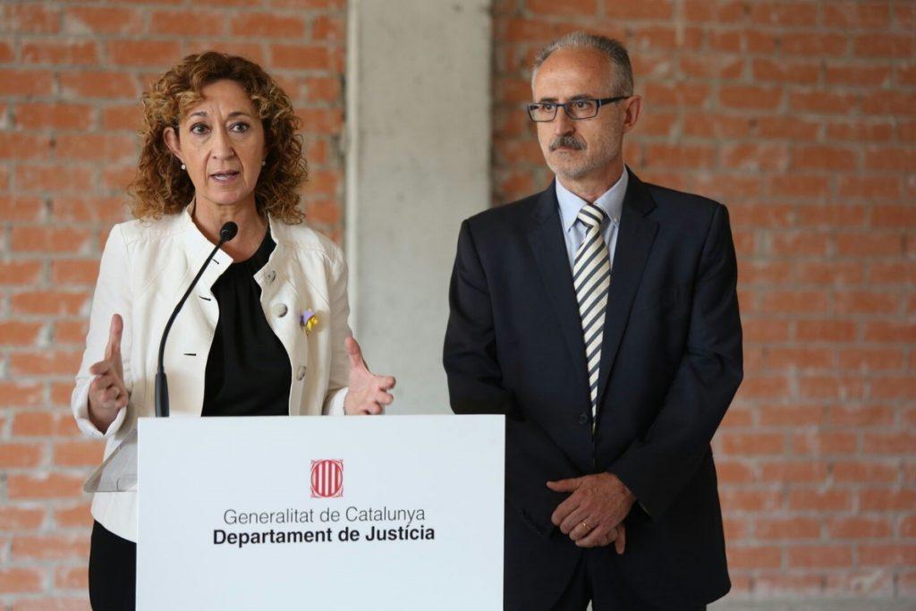 La consellera Ester Capella celebra que el traslado de los presos mejora su situación pero exige su libertad