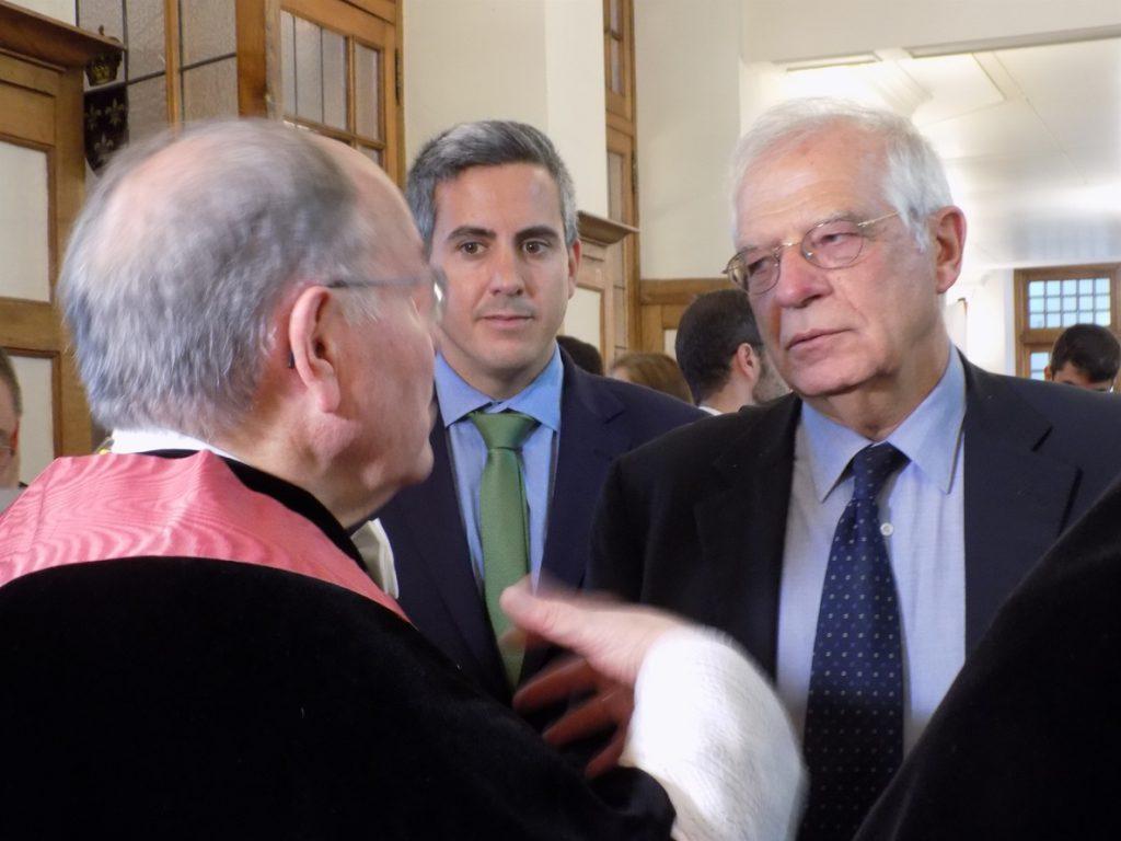 Borrell, sobre la relación de las instituciones europeas con la delegada del Govern: «ellos sabrán qué tienen que hacer»
