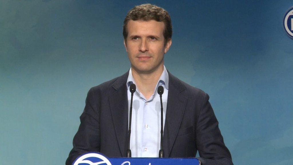 Casado: «De todos los candidatos, el único que no ha trabajado en los gobiernos de Aznar soy yo»