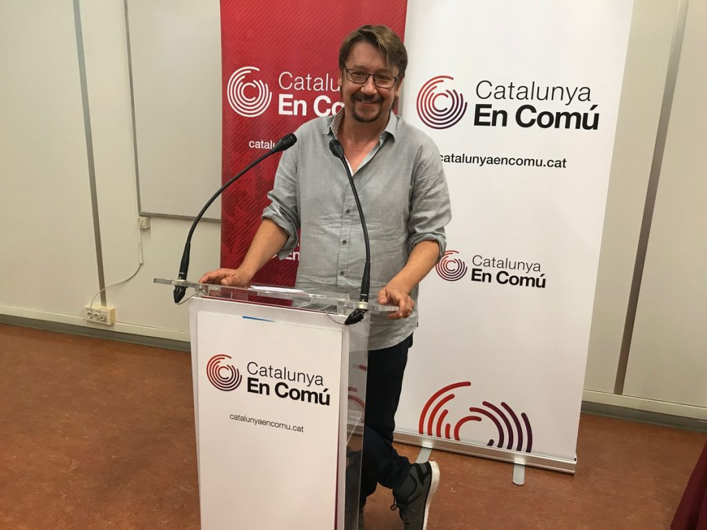 Domènech celebra «los buenos» resultados obtenidos en las primarias y la pluralidad que refleja la nueva Ejecutiva