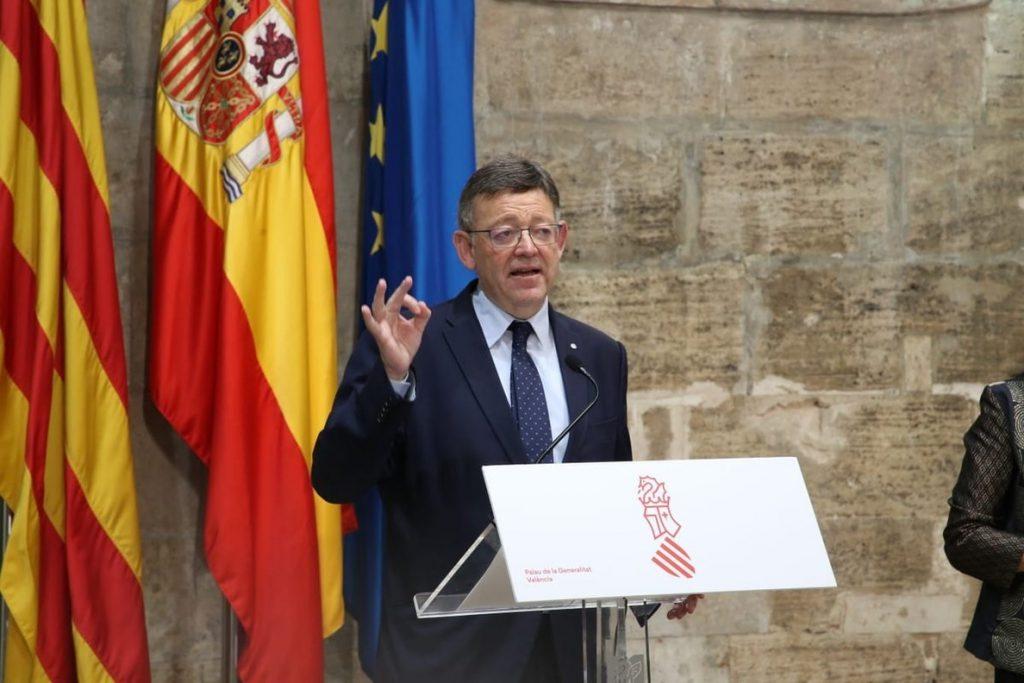 Puig defiende que «a nadie se le puede ocurrir prescindir del trasvase Tajo-Segura en este momento»