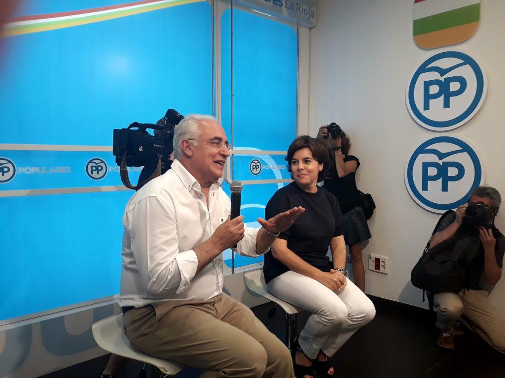 Sáenz de Santamaría asegura que ha hecho una campaña «en positivo» para después «integrar con generosidad»