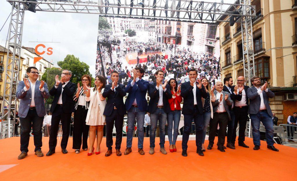 Cs abre primarias para elegir el 15 de julio a su candidato a la Presidencia de la Junta en las elecciones andaluzas