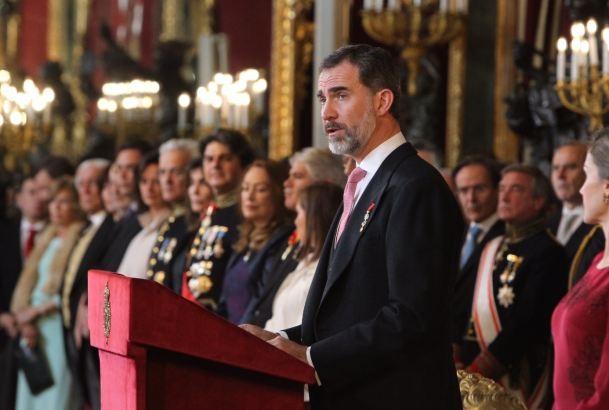 Felipe VI preside este jueves en San Fernando la entrega de despachos a los nuevos suboficiales de la Armada