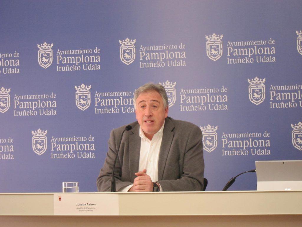 El alcalde de Pamplona expulsa a Aranzadi e Izquierda-Ezkerra del equipo de Gobierno del ayuntamiento