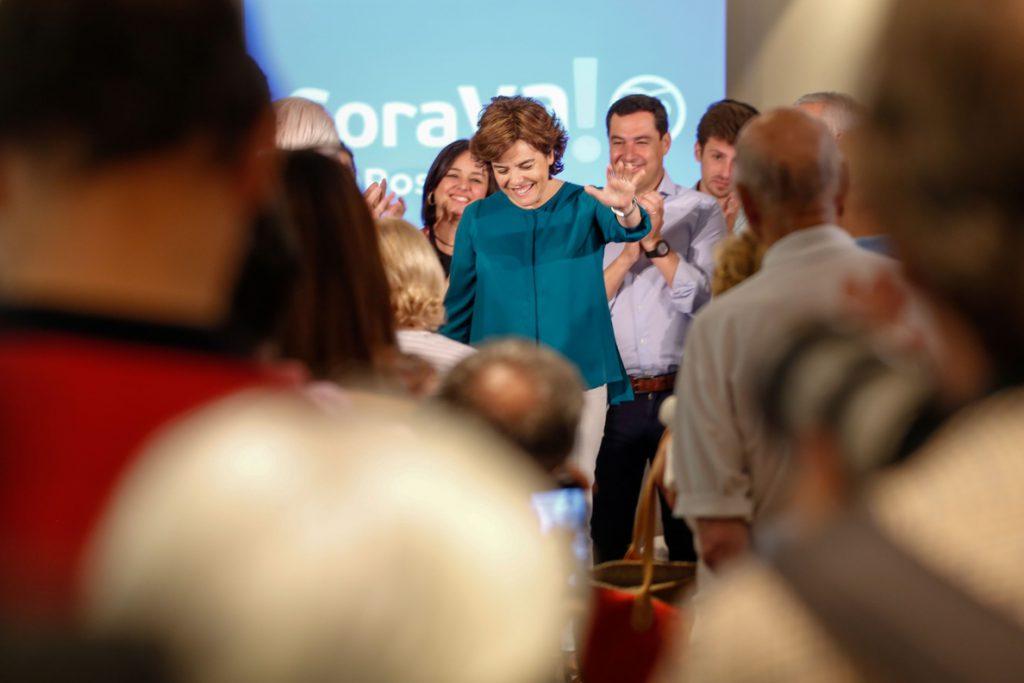 Santamaría anima a «votar en libertad» para hacer un partido «fuerte y grande» que «se parezca al mejor PP»