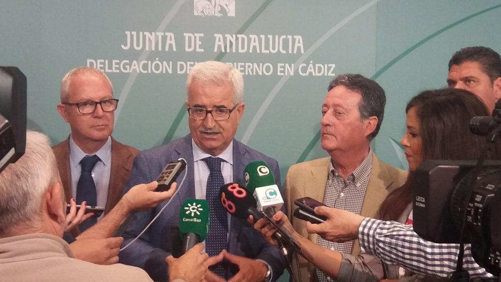 El vicepresidente andaluz Jiménez Barrios dice que el adelanto electoral «no está» en la cabeza de Susana Díaz