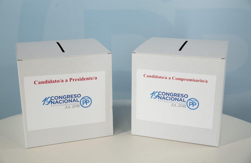 Cospedal es la candidata más votada en Galicia con Casado de segundo y Santamaría a corta distancia