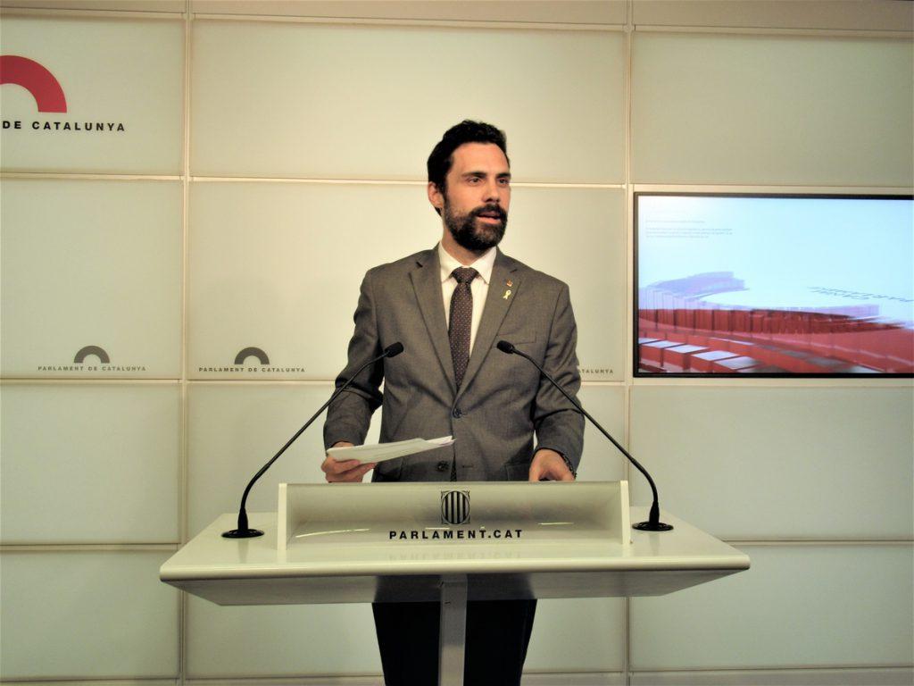 Torrent visitará este viernes a Junqueras, Romeva, Sànchez y Cuixart en la cárcel de Lledoners