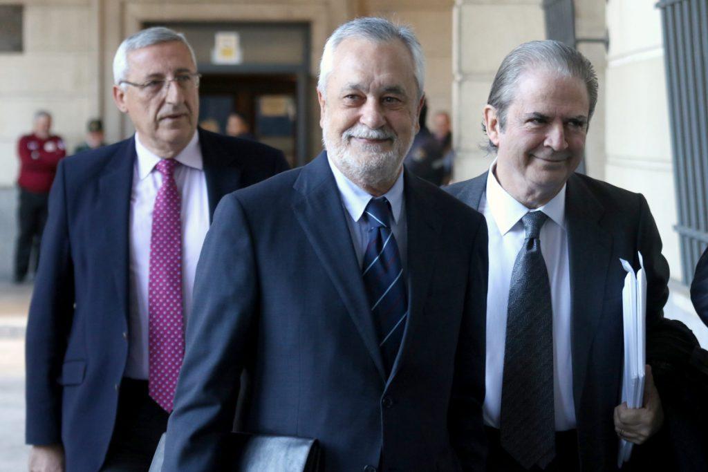 La defensa de Griñán renuncia a tres testigos en el juicio de los ERE, entre ellos José Caballos
