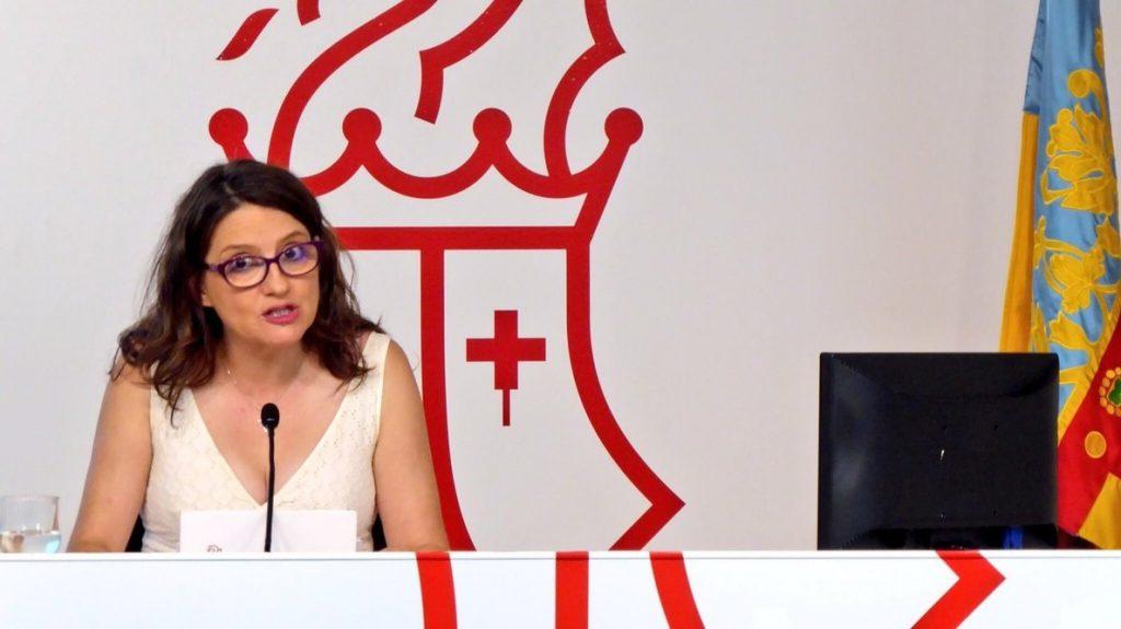 Oltra sobre Alquería: «No sé qué más contundencia se puede pedir que el presidente de la Diputación haya dimitido»
