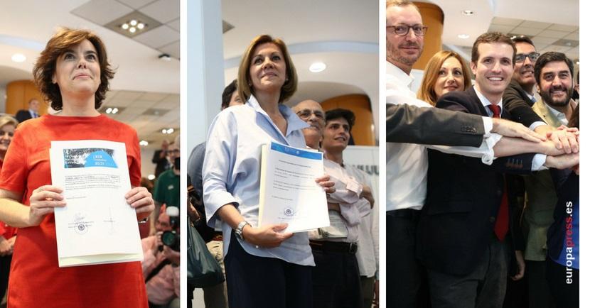 El reparto de compromisarios, dominado por Andalucía, añade más incertidumbre al resultado del congreso del PP