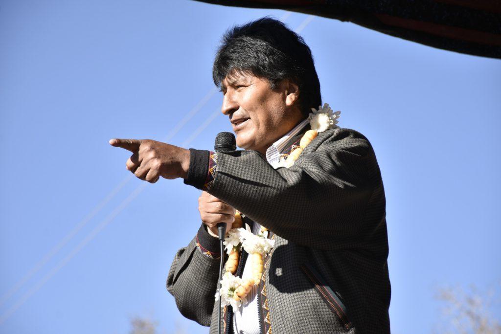 El MAS ratifica a Evo Morales como candidato a la reelección como presidente de Bolivia