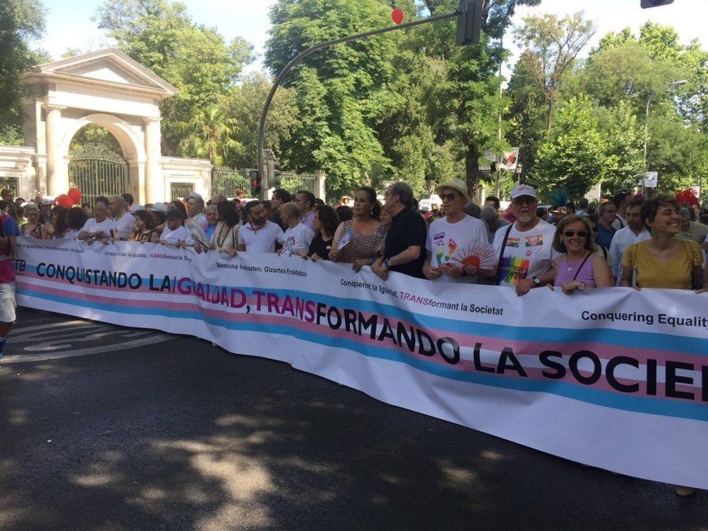 Gabilondo exige al Gobierno de Madrid la ejecución total de las normativas específicas para el colectivo LGTBI