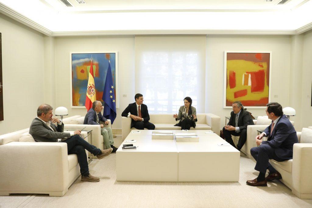 CCOO, UGT, CEOE y Cepyme presentan esta semana a Pedro Sánchez el pacto salarial