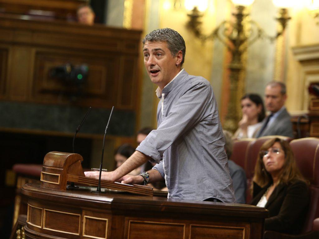 EH Bildu dice que si los vascos tienen derecho a decidir su futuro debe haber «mecanismos que permitan materializarlo»