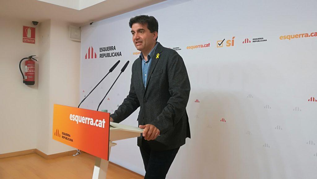ERC celebra la reunión Torra-Sánchez pero critica que no se avale la autodeterminación