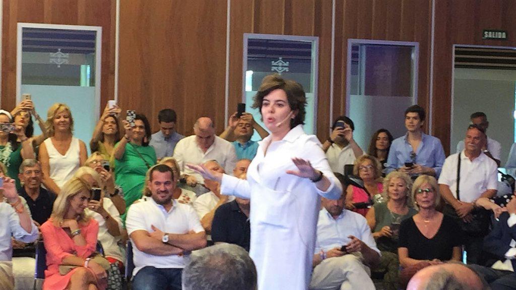 Santamaría defiende que «la militancia ha hablado» y ve que «lo prioritario» antes que el debate es la integración