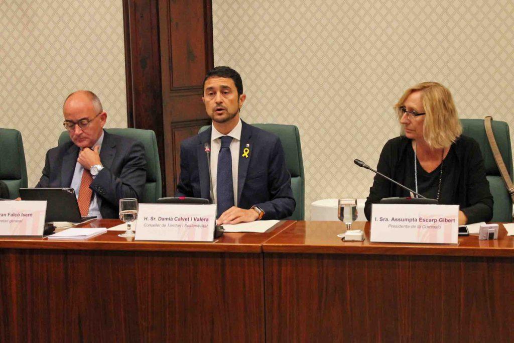 El conseller catalán de Territorio quiere abordar en la Comisión Bilateral con el Estado el traspaso de Rodalies