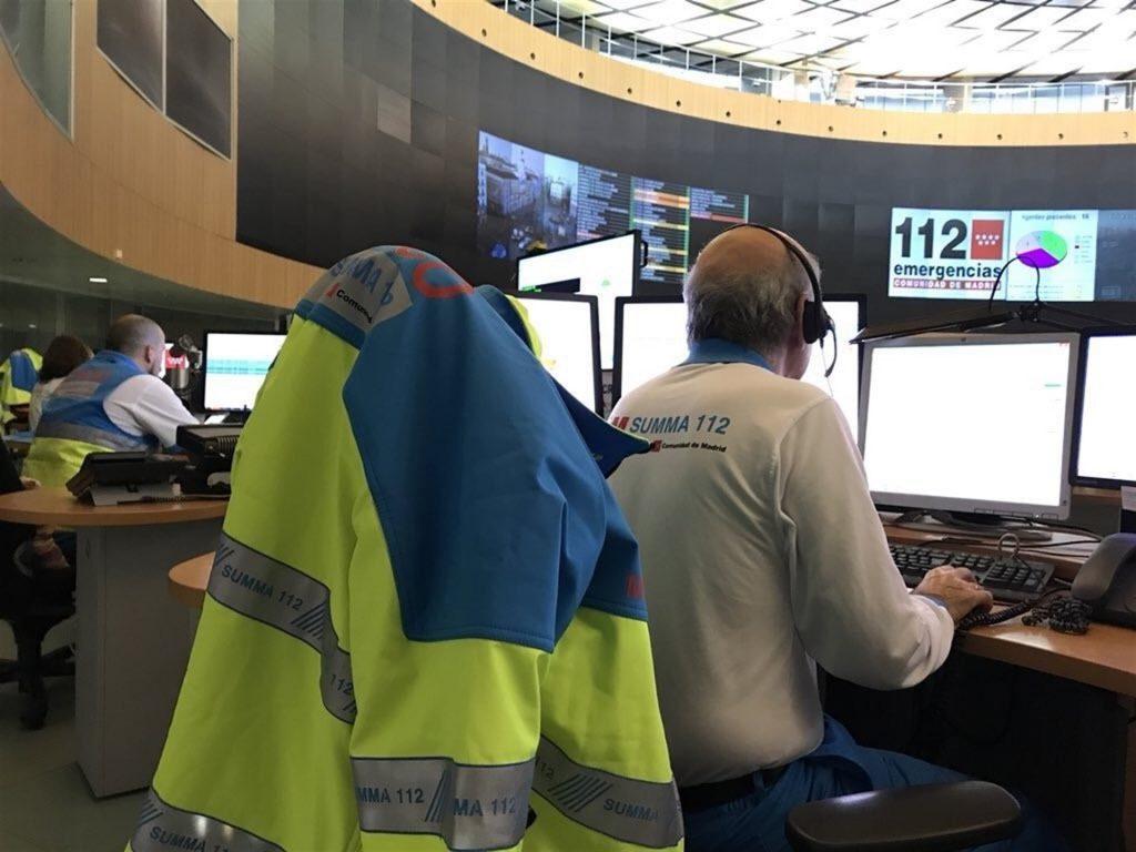 El 112 recibe 8 llamadas sobre el avistamiento un meteorito en la Comunidad de Madrid