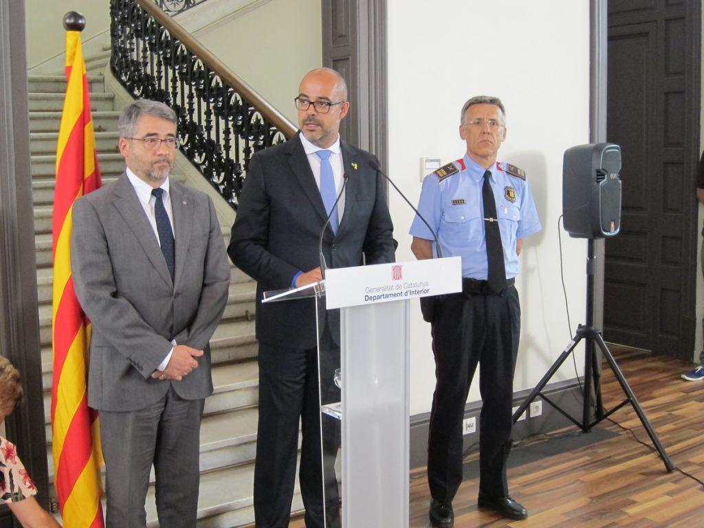 El conseller Buch nombra al comisario Miquel Esquius nuevo jefe de los Mossos d'Esquadra