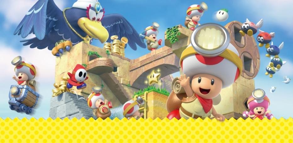 Captain Toad: Treasure Tracker llegará a Nintendo Switch y la familia 3DS el 13 de julio