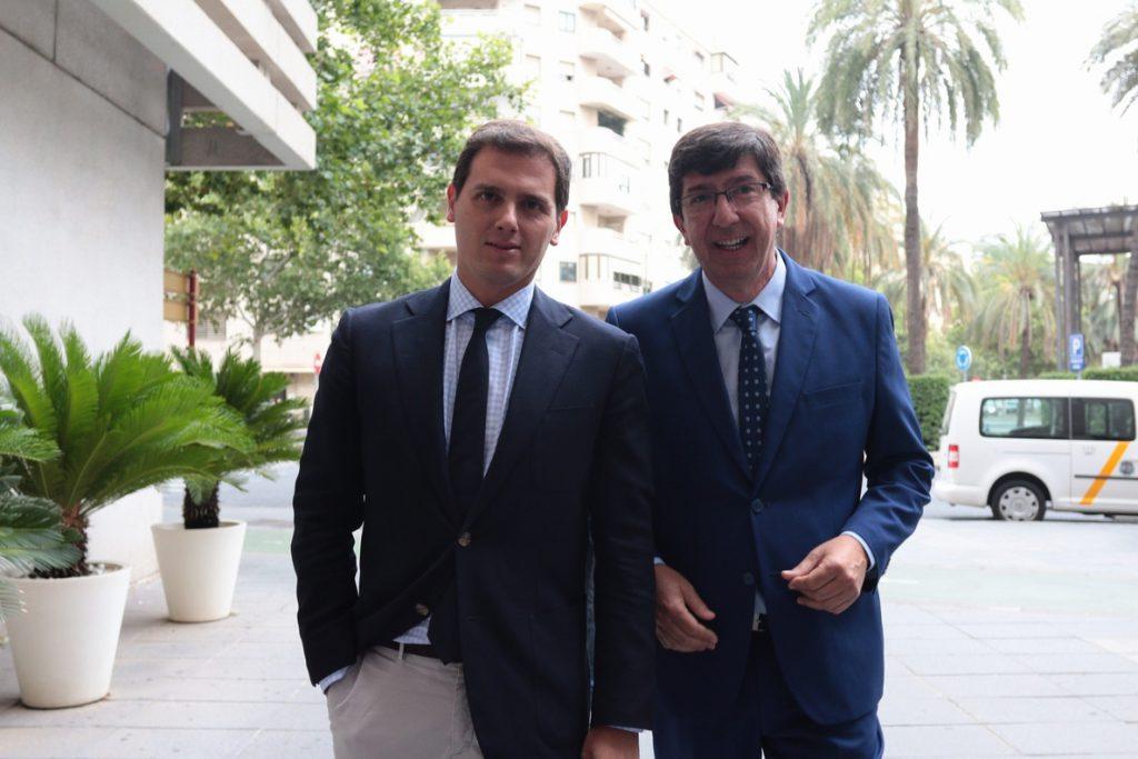 Rivera descarta «pactos» de Cs con PSOE-A si hay condena en los ERE y los socialistas «no asumen responsabilidades»