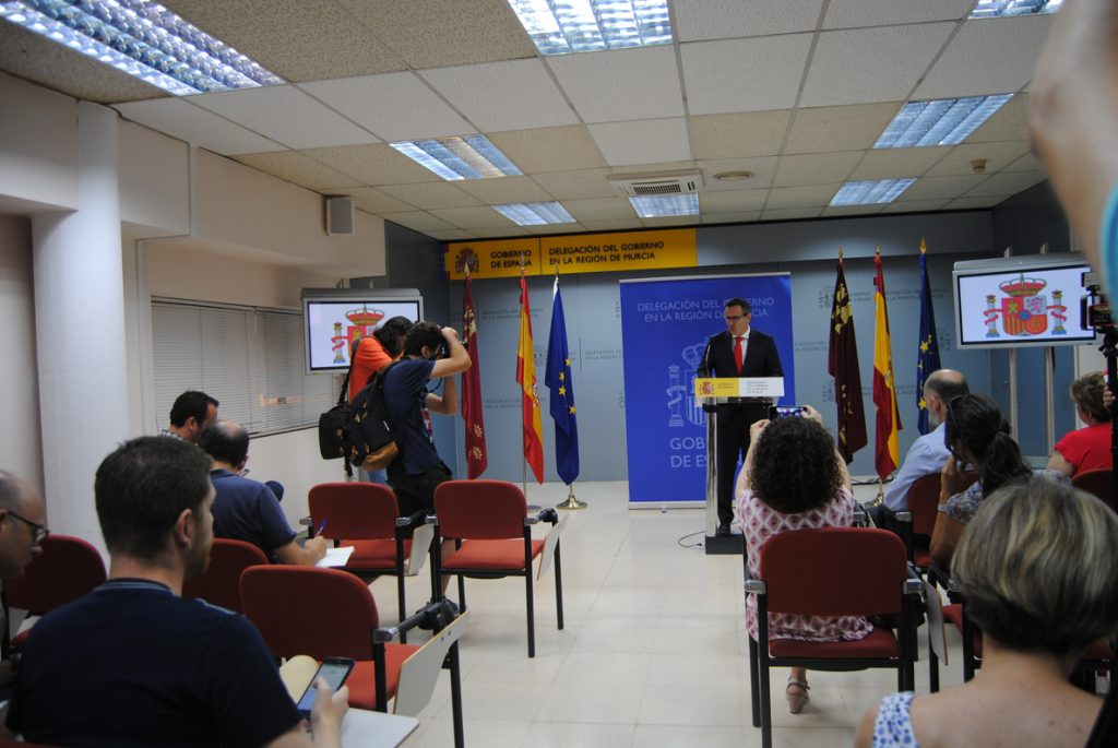 Delegado Gobierno anuncia que el AVE llegará soterrado a Murcia en el segundo semestre de 2020