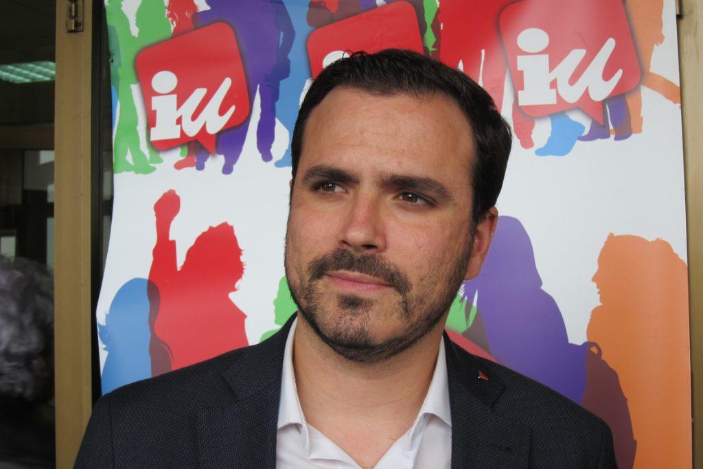 Garzón (IU) aboga por confluencias fuertes para «cumplir objetivos» pero debe ser Compromís quien decida si se suma