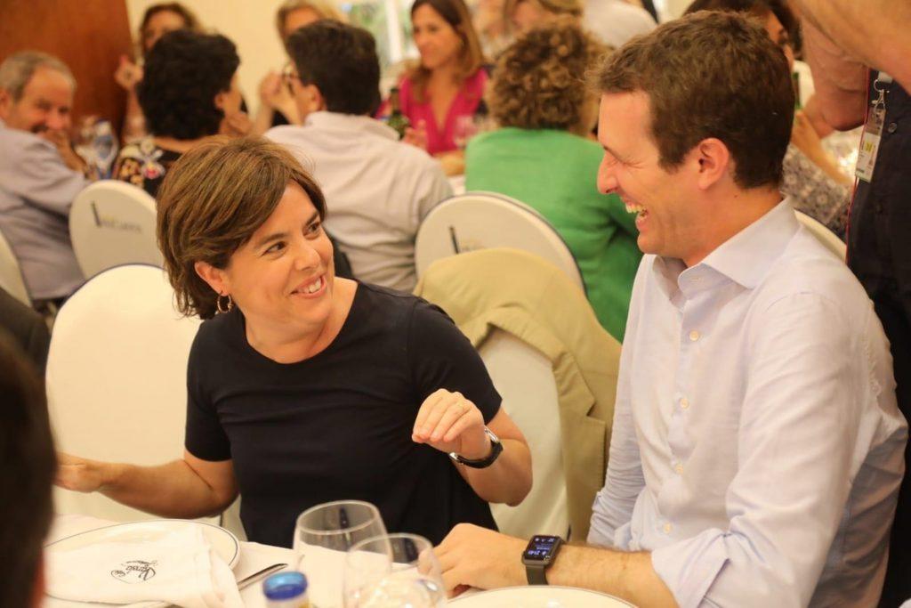 Fuego amigo: un vídeo anónimo del PP pretende echar por tierra la candidatura de Santamaría