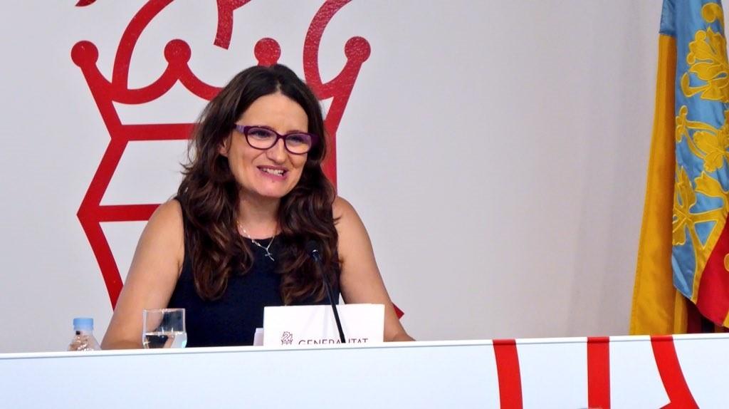 Oltra valora el diálogo entre Sánchez y Torra, pide que no haya un trato desigual entre territorios»