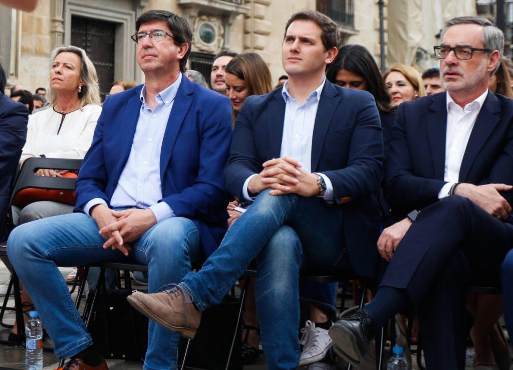 Rivera presentará el lunes en Sevilla a los cabezas de lista de Cs para las andaluzas, que se eligen este fin de semana