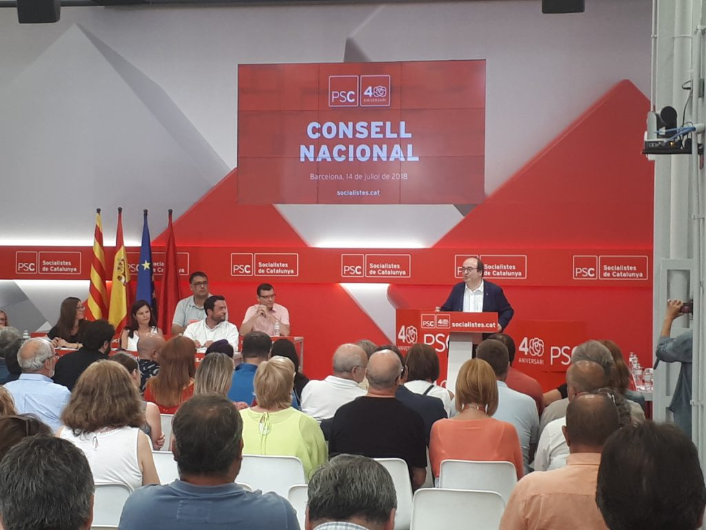 Iceta pide al independentismo que no supedite la política a decisiones judiciales