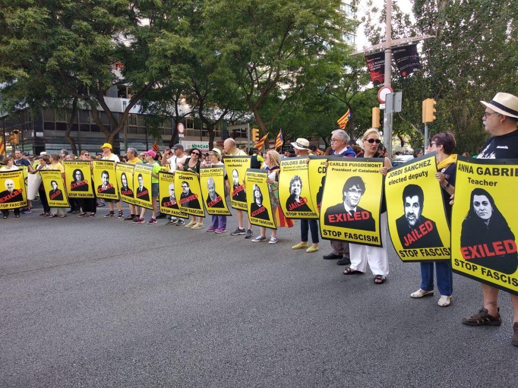 Torra: «Saldremos las veces que haga falta para reclamar que los presos políticos sean libres»