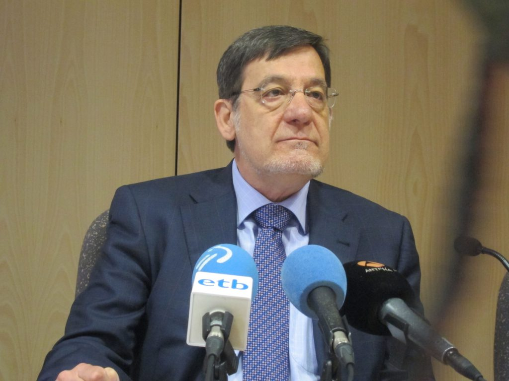 Ibarra (TSJPV) dice que la consulta habilitante del Estatuto vasco «choca con los límites constitucionales»