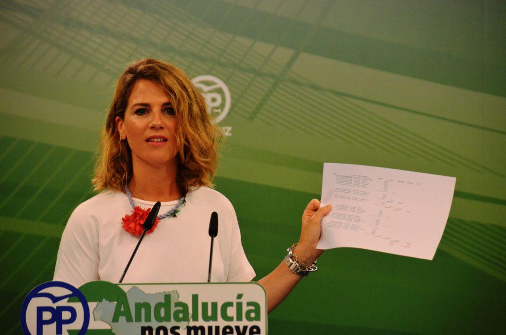 PP-A advierte una «escalada de mentiras» de la Junta de Andalucía sobre la Faffe y pide el cese de Carnero y Blanco