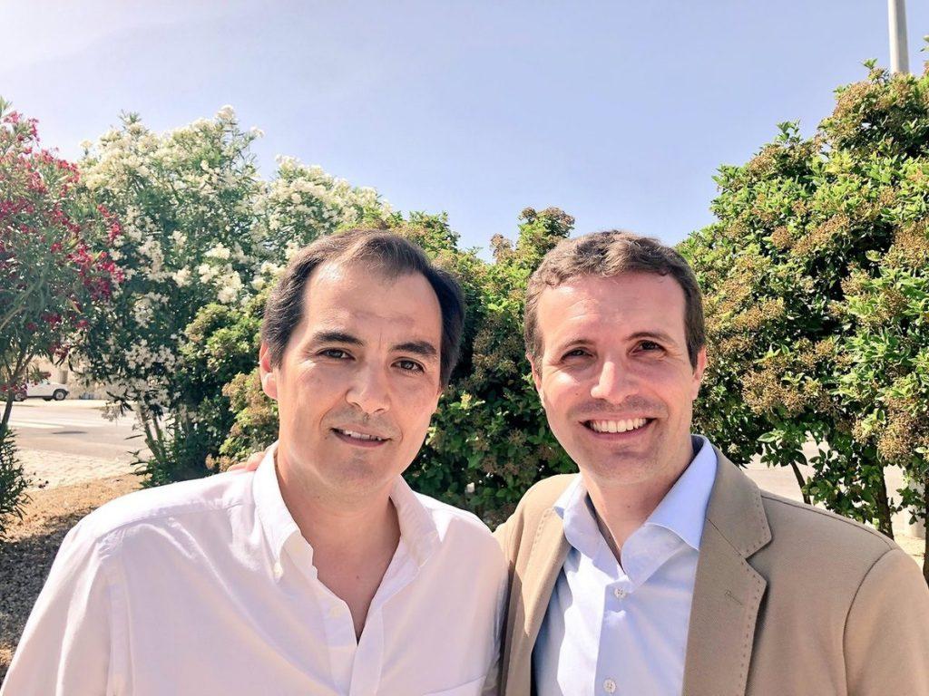 Nieto expresa su respaldo a Casado y valora su «enorme esfuerzo en defensa de la unidad de un PP fuerte»