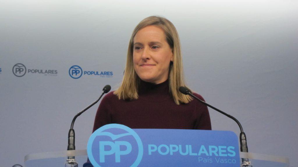 El PP Vasco llama al PSE a la unión del constitucionalismo porque no va a frenar la «deriva» de PNV con «avisos tibios»