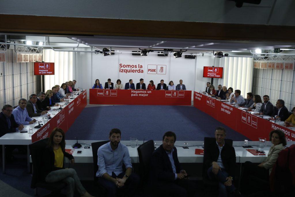 Pedro Sánchez presidirá este lunes la Ejecutiva del PSOE que decidirá quién asume las funciones de Tezanos