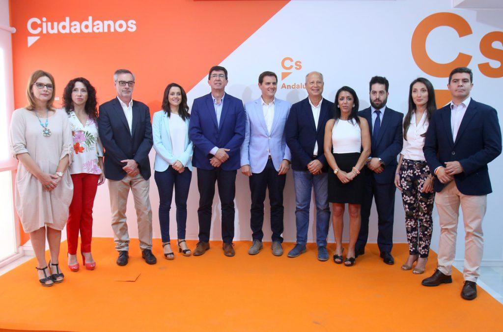 Cs se «volcará» en las autonómicas para ganar a Díaz y porque «el cambio para España tiene que empezar por Andalucía»